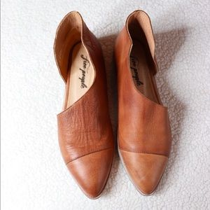 Free People Royale Flat Leather